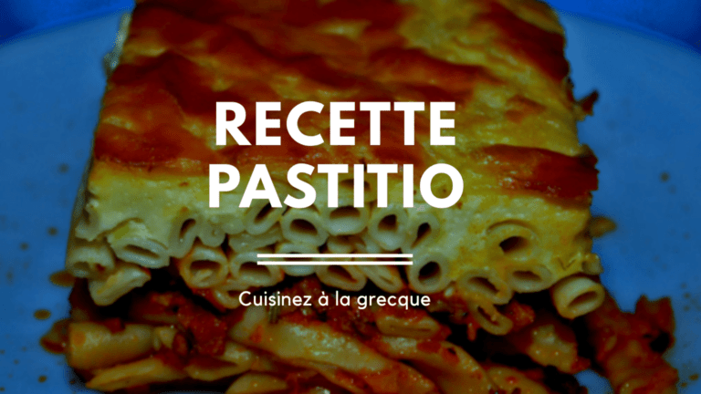 Recette : Pastitsio