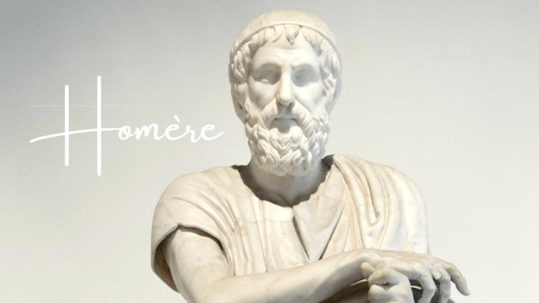 Homère, célèbre poète grec