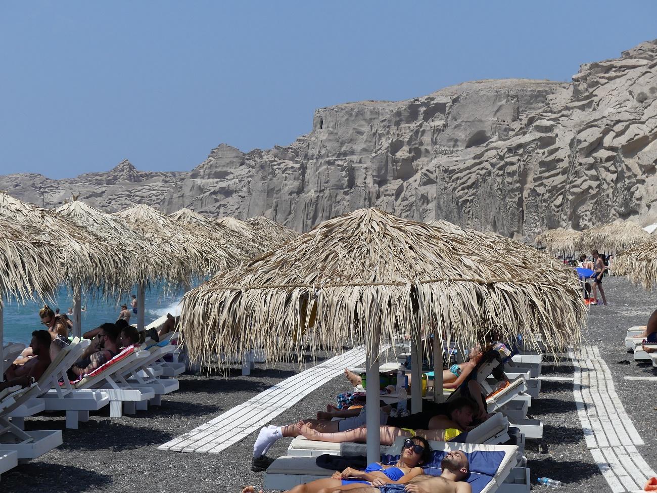 Plages de l'île de Santorin