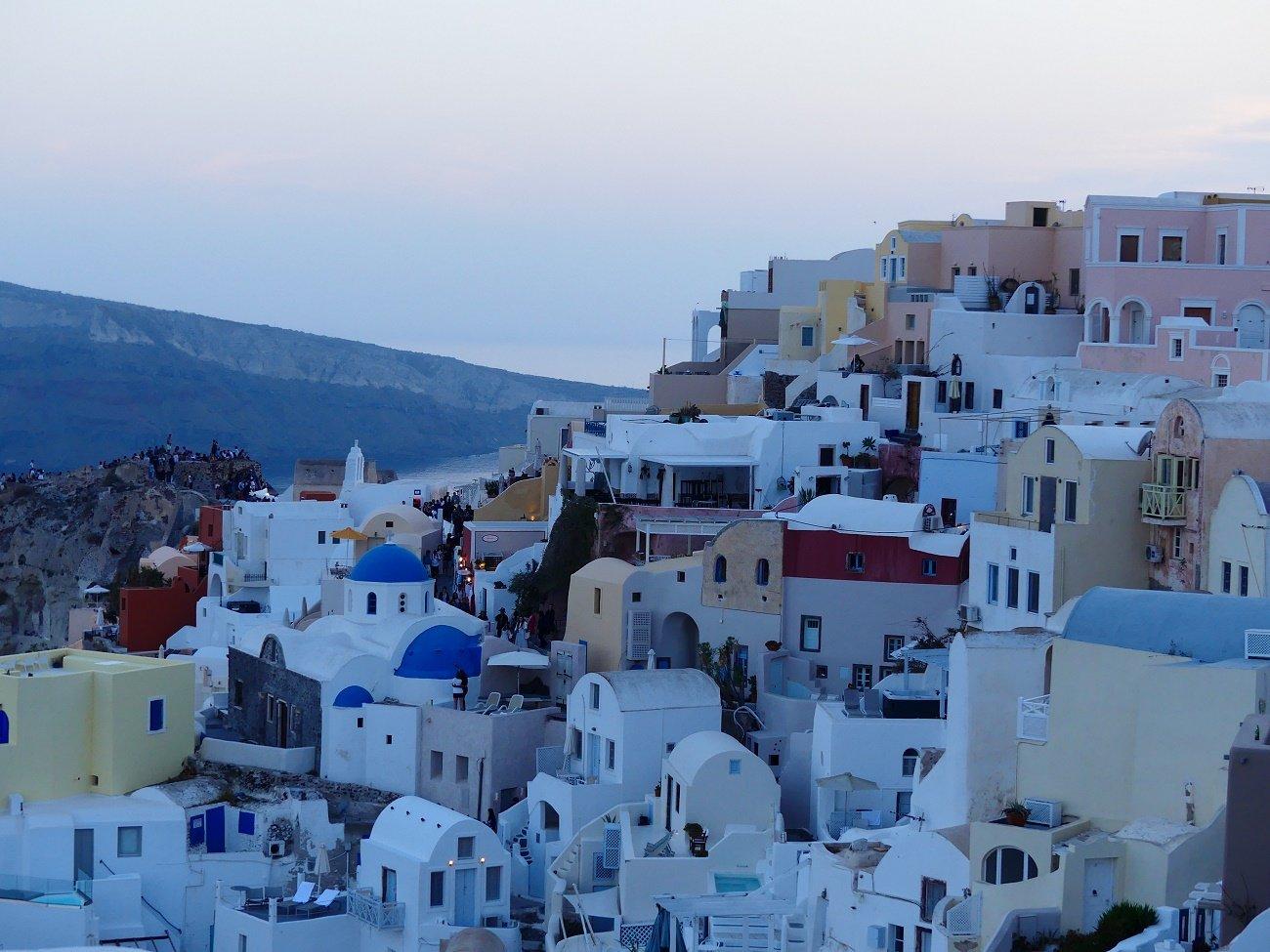 Villes et villages de Santorin