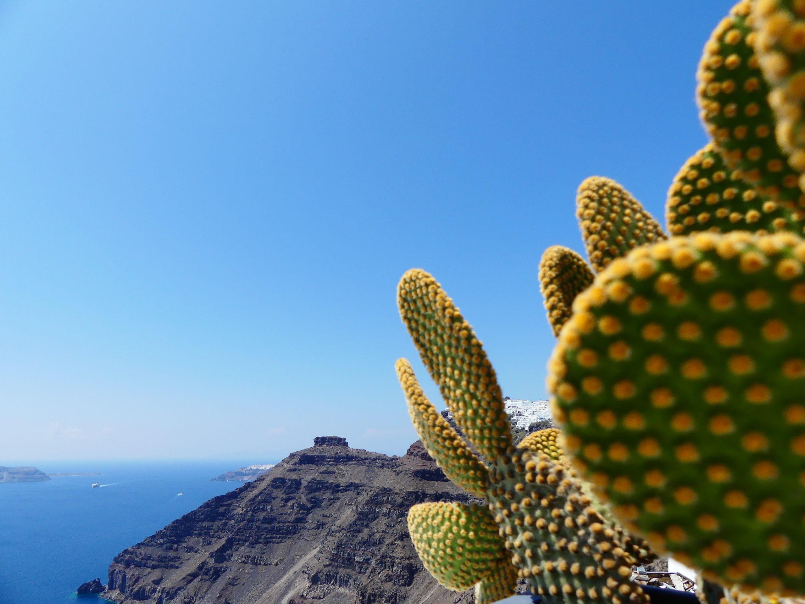 Circuler sur l'ile de Santorini