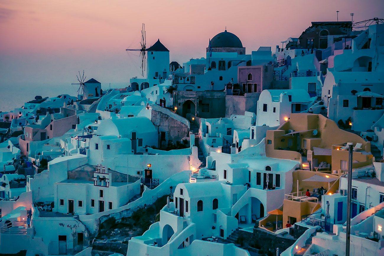 Visiter l'île de Santorin en Grèce